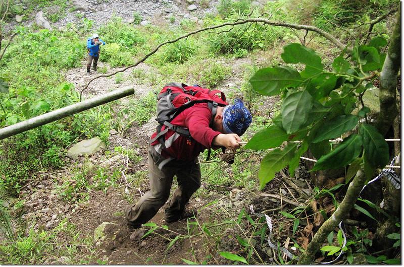第一登山口大落差 2