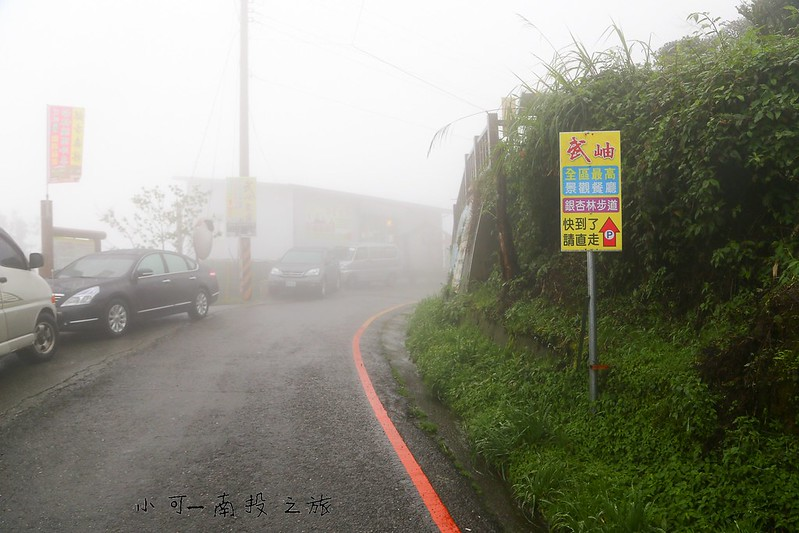 南投武岫全區最高景觀餐廳銀杏林步道