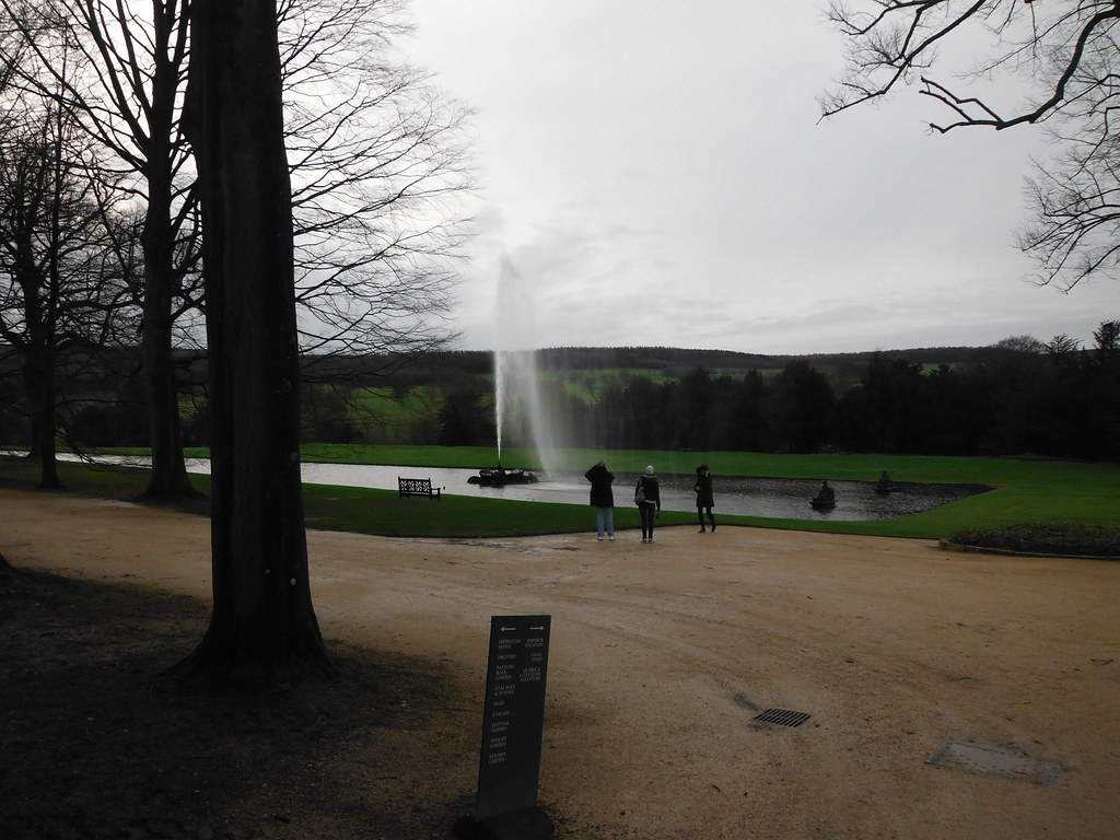 Chatsworth House Emperor Fountain 1
