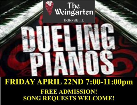 Dueling Pianos 4-22-16