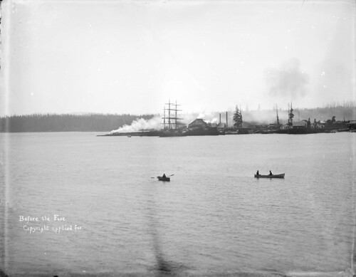 LGN 450 - [Vancouver waterfront] before the fire [of 1886]