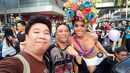 Bb. Pilipinas 2016 - parade of beauties in Araneta Center