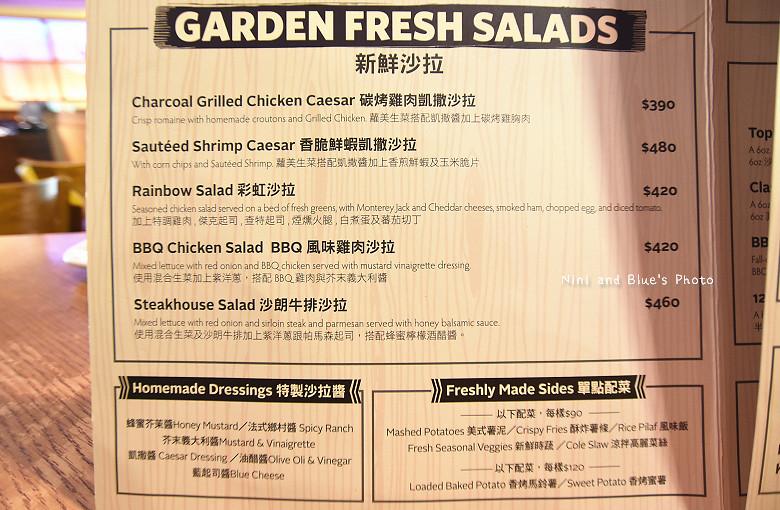 台中牛排美國牛排菜單menu價位 03