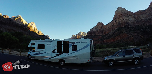 Wed, 10/14/2015 - 07:37 - RV Parking Lot inside Zion NP