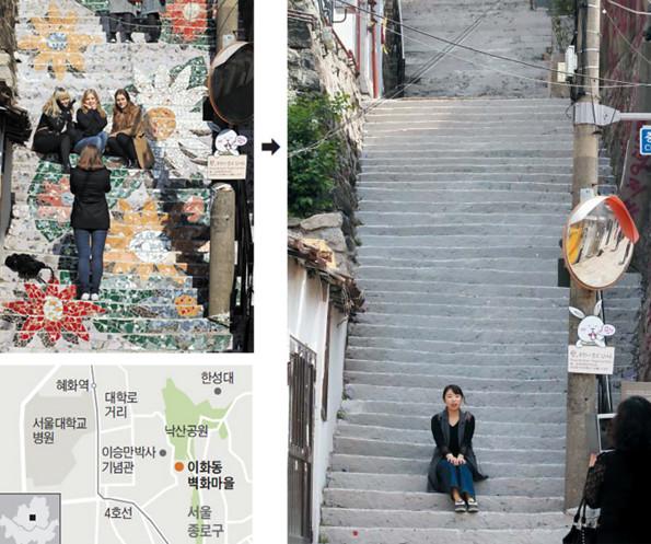 消失的花階梯