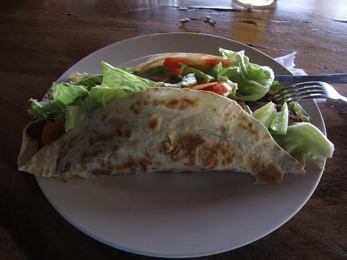 Playa Santo Domingo: le meilleur burrito !