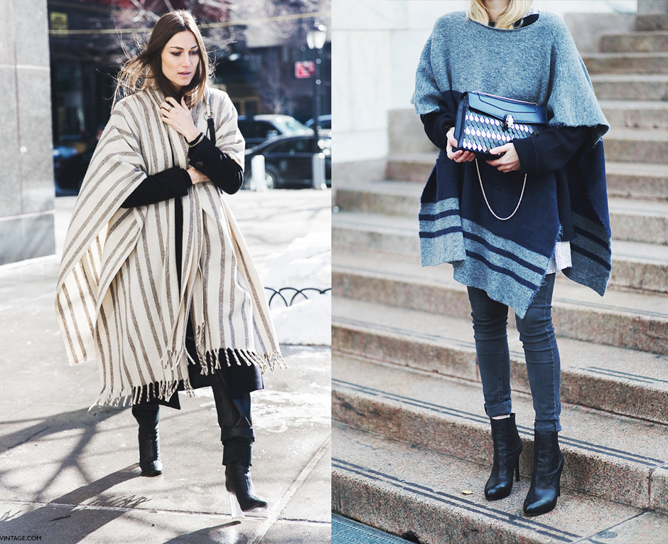 poncho-cape-winter-outfit-ideas