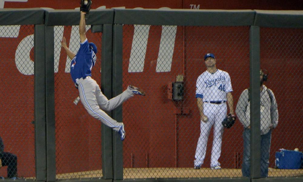 USP MLB: ALCS-Toronto Blue Jays at Kansas City Roy