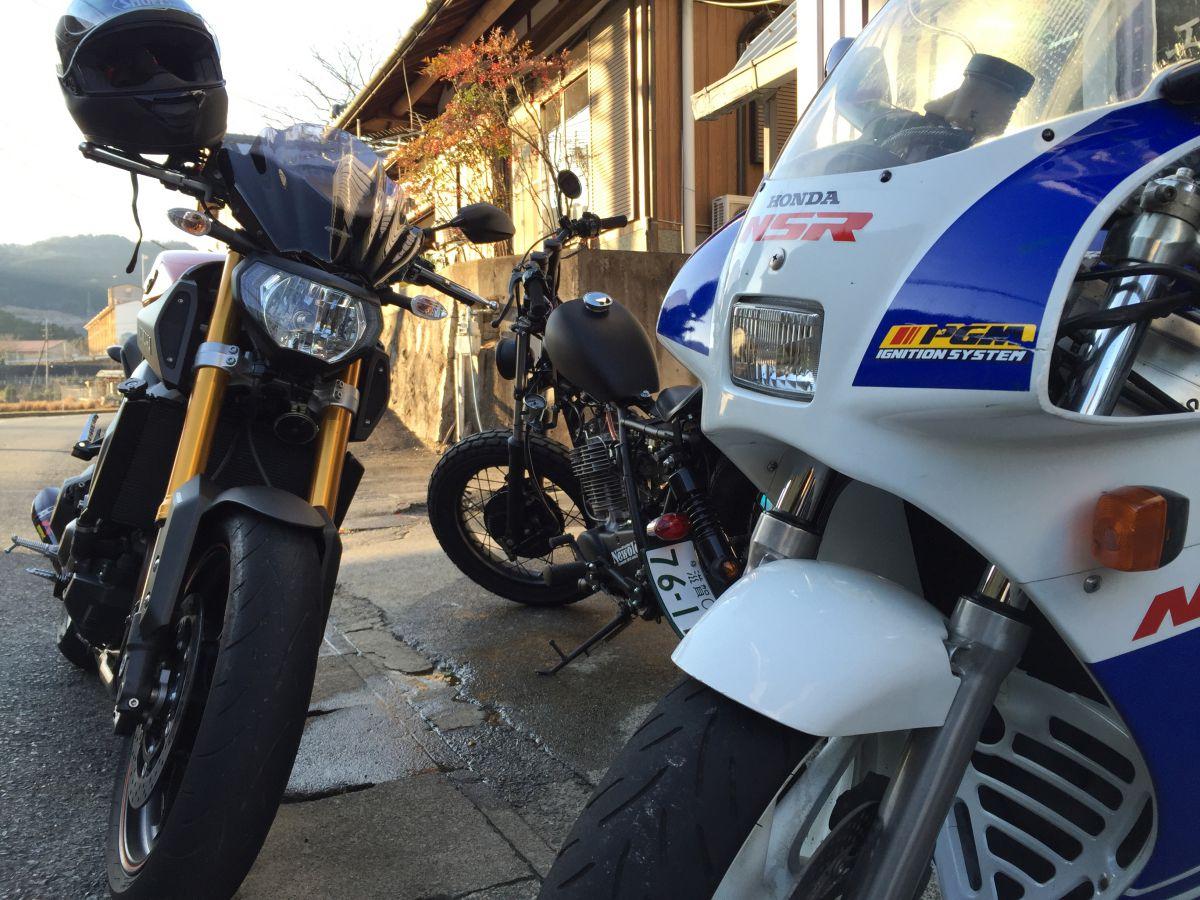 Yamaha MT-09, Honda NSR250R