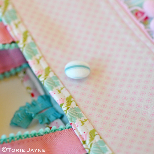 Pretty tote sewing tutorial 26