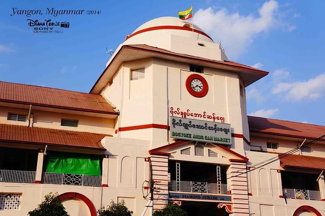 Myanmar, Yangon Bogyoke Aung San Market 01