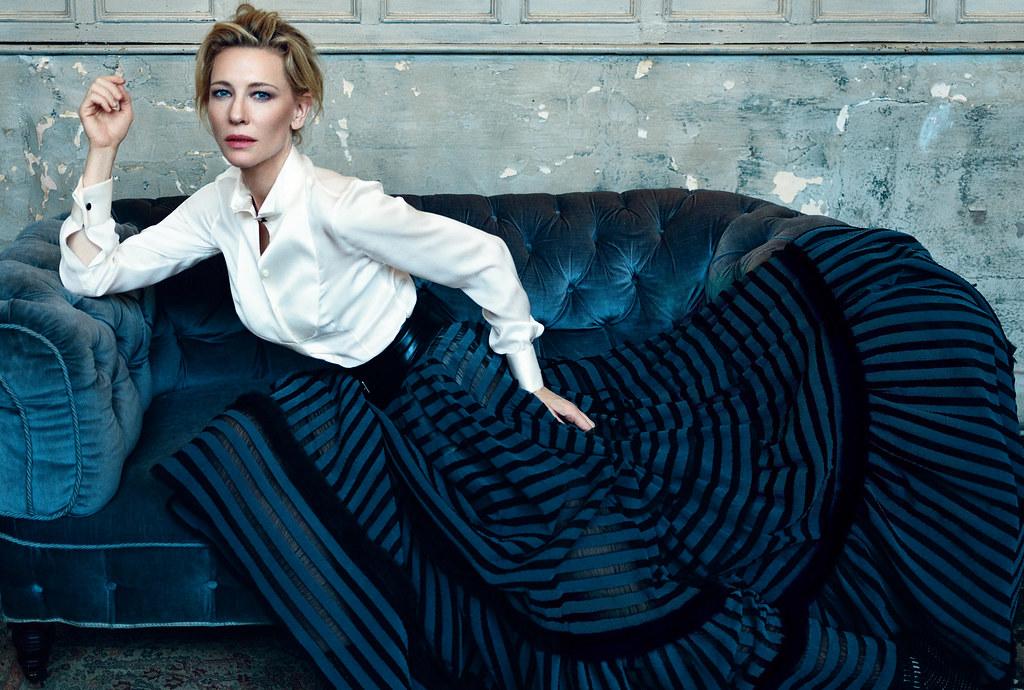 Кейт Бланшетт — Фотосессия для «Harper's Bazaar» UK 2015 – 1