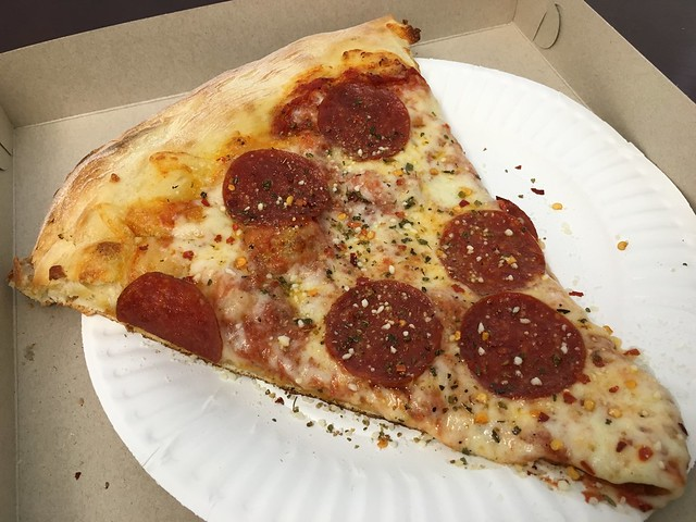 Pepperoni slice - Escape From New York Pizza