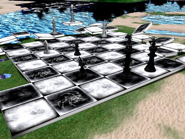 Split Screen - Chessboard Indecision