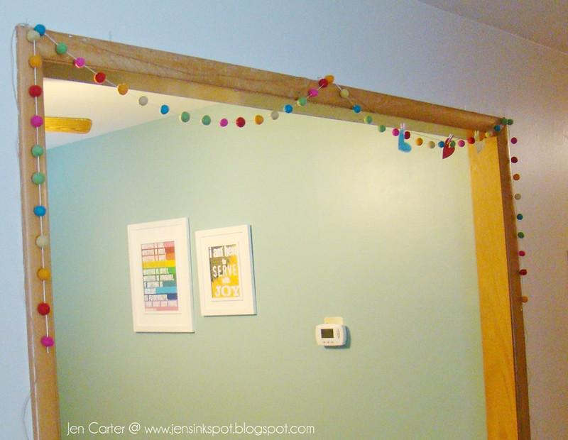 Jen Carter Heart Banner Hanging 11