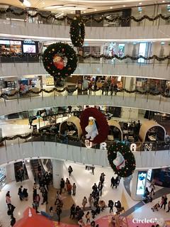 新世紀廣場 旺角 香港 MONGKOK HONGKONG 姆明家族 2015 CIRCLEG 聖誕裝飾 (7)