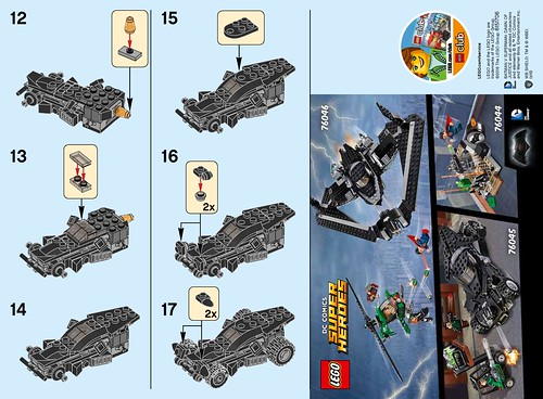 LEGO DC Comics Super Heroes Batman v Superman: Dawn of Justice The Batmobile (30446) Polybag