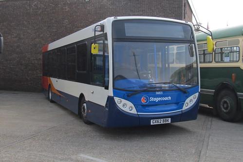 Stagecoach South 36825 GX62BBK Botley