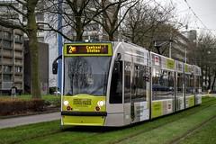 GVB Combino tram 2090, Lijn 2, Heemstedestraat
