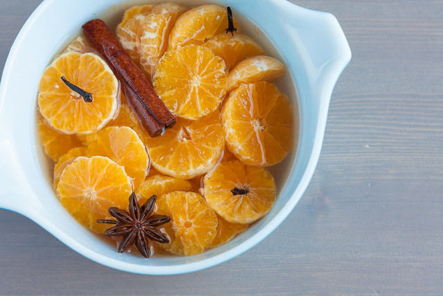 Clementines with Spiced Syrup Recipe