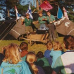 Zeltlager Seis 1990