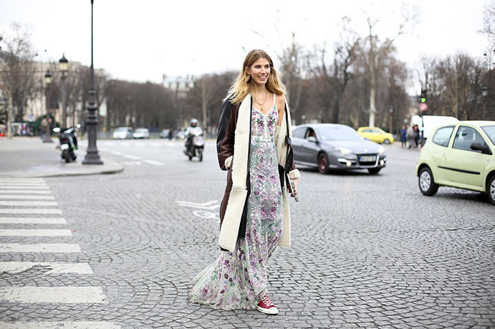 Street Style Fashion Week Paris8