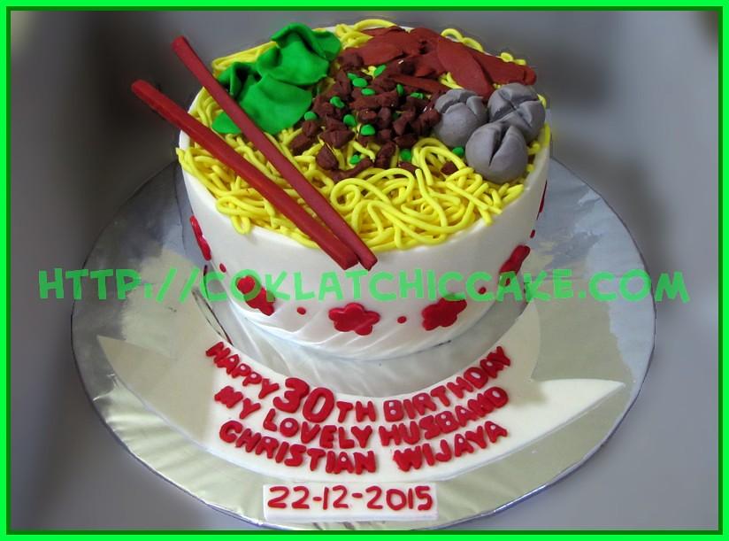 Cake Mie Bakso