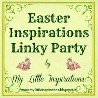 Easter Linky Party grab button for My Little Inspirations