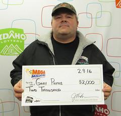 Gary Payne - $2,000 Mega Millions