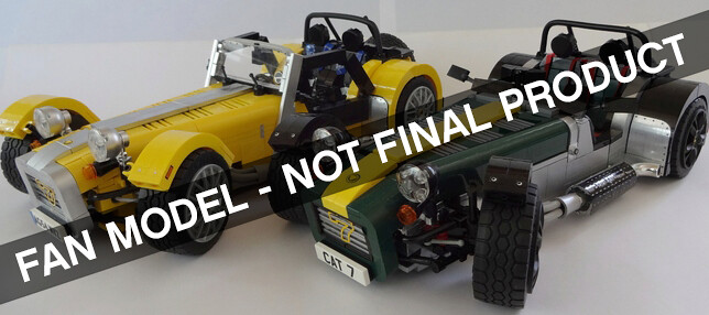 lego announces adventure time and caterham super 7 to become official ideas models news the. Black Bedroom Furniture Sets. Home Design Ideas