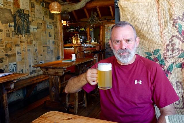 Beer is the reward