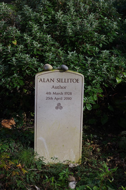 Header of Alan Sillitoe