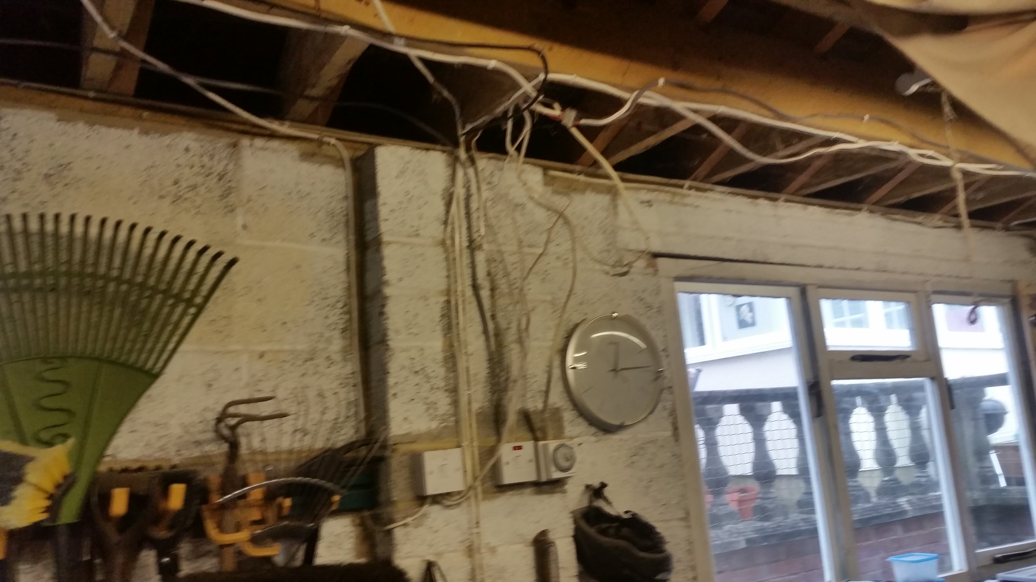 Rewiring The Garage Electricians To Forum Please Singletrack An Old House Plaster Walls Urlhttps Flickr P Ekkzwu20160222 122025 Url By Wca On