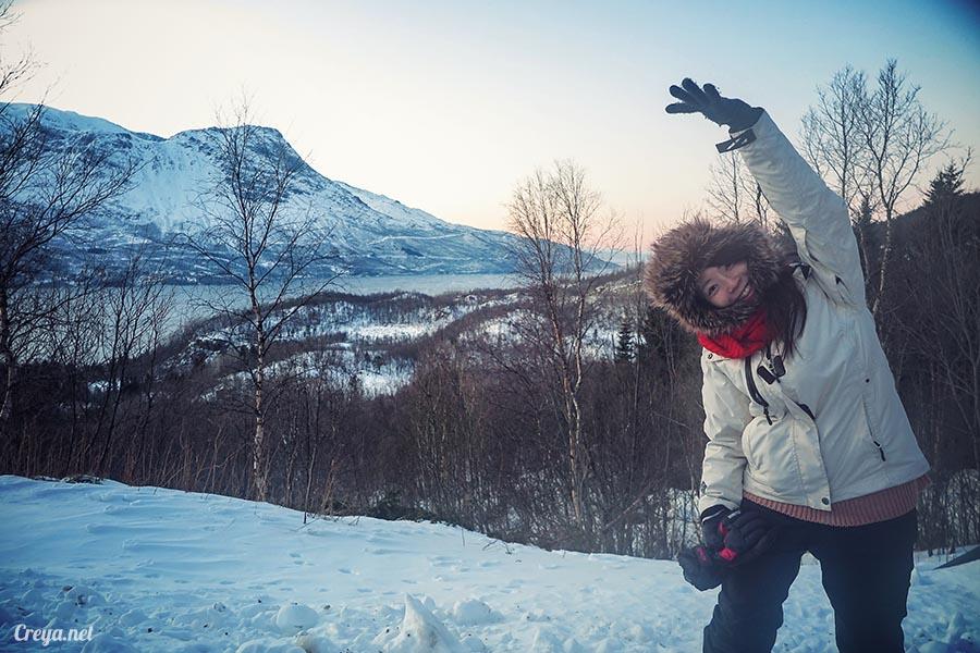 2016.02.23▐ 看我歐行腿 ▐ 阿呀~一不小心就從瑞典到了挪威, Narvik 小鎮遇見地理課本中的峽灣 19.jpg