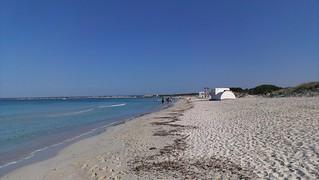 Image of Es Trenc Beach near Ses Salines.