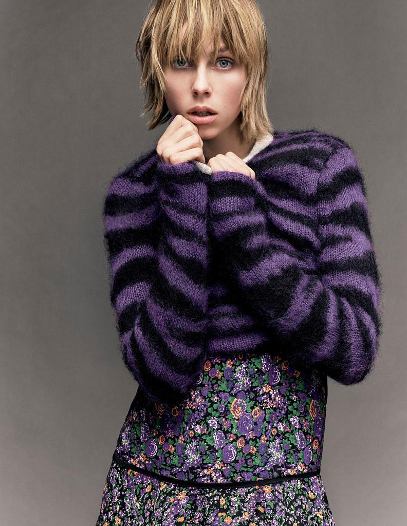 Эди Кэмпбелл — Фотосессия для «Vogue» JP 2016 – 15