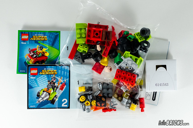 REVIEW LEGO 76062 Mighty Micros Robin vs Bane (HelloBricks)