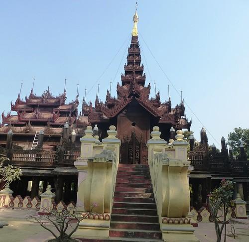 M16-Mandalay-Quartier des moines-Monastere (8)