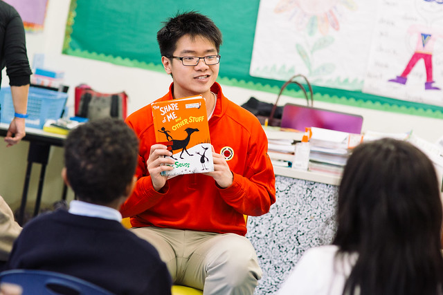 Read Across America Day - City Year Boston 2016