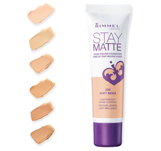 Stay matte liquid mousse foundation de Rimmel London