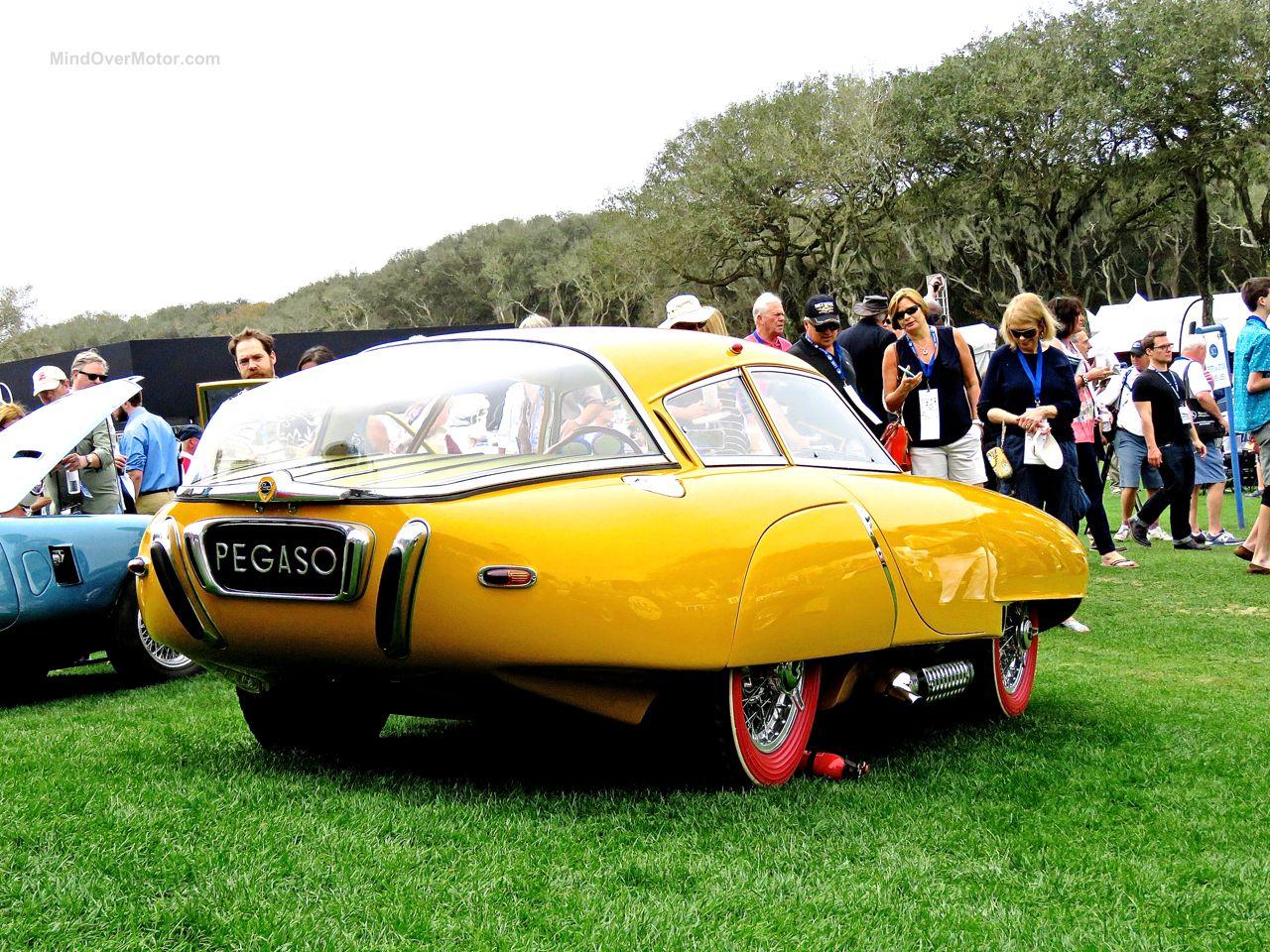 1952 Pegaso Z-102 Cupula Coupe Amelia Island 10