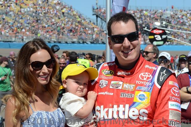 Kyle Busch & Family