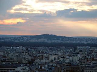Vista desde la Torre Eiffel. Paris (Francia).