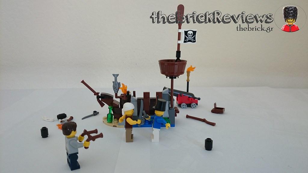 ThebrickReview: LEGO 70409 Shipwreck Defense (Pic Heavy!) 25728789143_e5c5929e8c_b