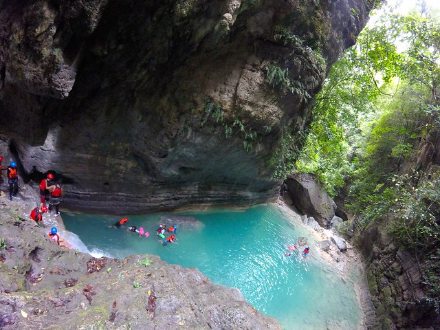The Turquoise Water of Matutinao River