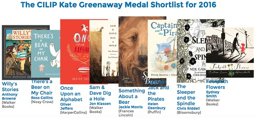 Kate Greenaway 2016 shortlist