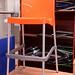 Tall plastic bar stool
