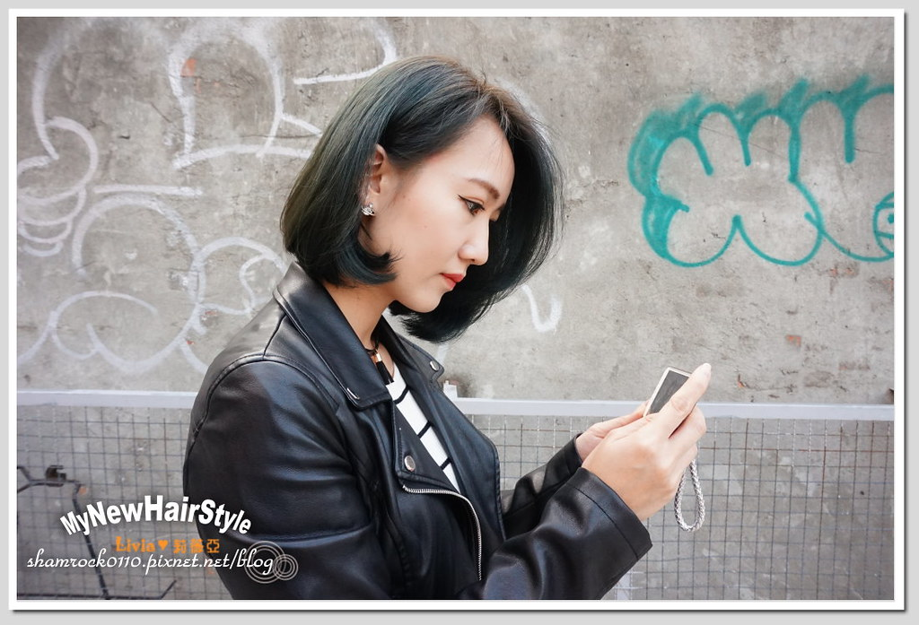 HappyHairTon短髮+墨綠色染髮 - 22