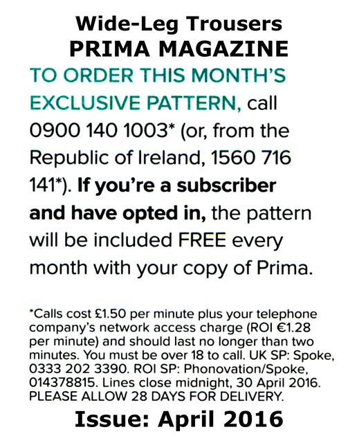 Prima Magazine - Pattern, April 2016 (04)