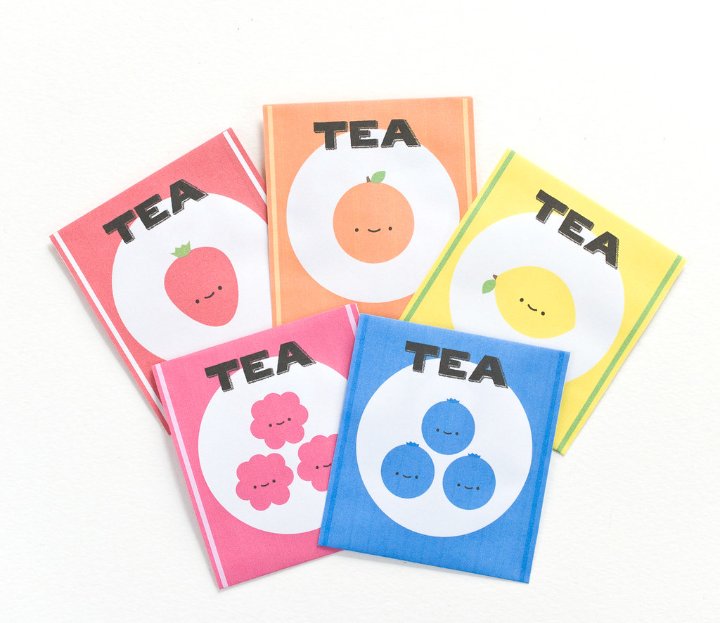 Printable Tea Bag Notes